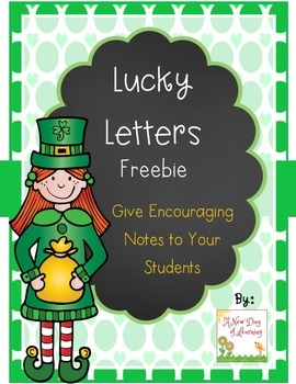 Lucky Letters: Write Encouraging Notes to Your Students