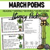 March Reading and Writing Activity Pack   Lucky Literacy