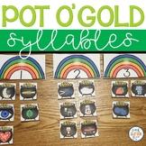 March Syllable Sort - Pot o' Gold Syllables Center