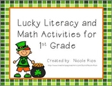 Lucky Literacy and Math Activities for First Grade