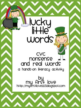 Lucky Little Words (A Hands-On Literacy Activity)