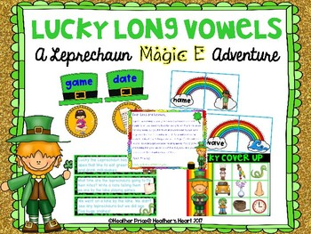 Lucky Long Vowels: A Leprechaun Magic E Adventure