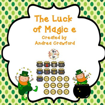 Magic E St. Patrick's Day Activity and Game