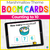 Lucky Marshmallow Cereal Counting Numbers 1-10   Boom Cards™ Digital Task Cards
