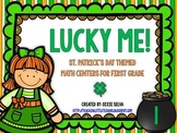 Lucky Me! {St. Patrick's Day Math Centers for First Grade}