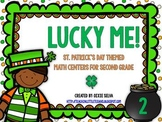 Lucky Me! {St. Patrick's Day Math Centers for Second Grade}