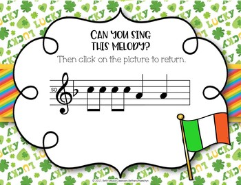 Lucky Melodies - St. Patrick's Day Interactive Game to Practice So Mi