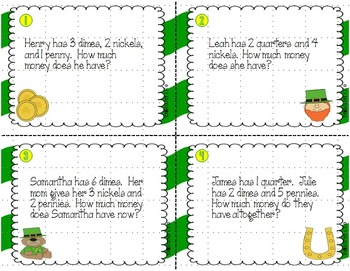 Lucky Money--Activities to Reinforce Your Money Unit