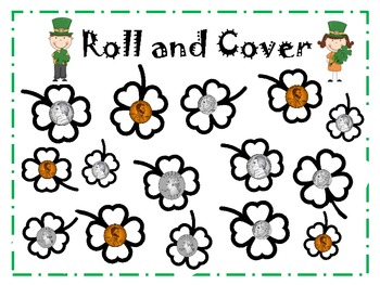 Lucky Money Roll or Spin and Cover