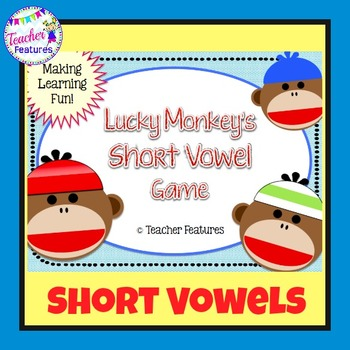Short Vowels Game: Monkey Theme