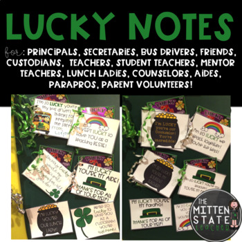 Lucky Notes (Positive Affirmation notes for others)