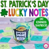 Lucky Notes- St. Patrick's Day Kindness Activity