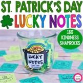 Lucky Notes- St. Patrick's Day Kindness Activity- Shamrock