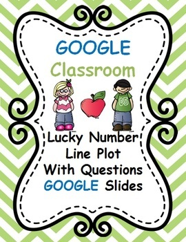 Lucky Number Line Plot Google Slides Google Classroom