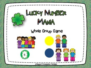 Lucky Number Mania:  Number Bond Games for K-1