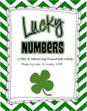 Lucky Numbers - A Free St. Patrick's Day-Themed Math Activity