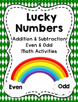 Lucky Numbers Addition & Subtraction Even Odd Math Activities