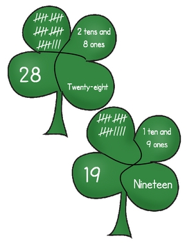 Lucky Numbers: St. Patrick's Day Math Center