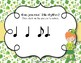 Lucky Rhythms - St. Patrick's Day Interactive Game to Practice Ti-tam