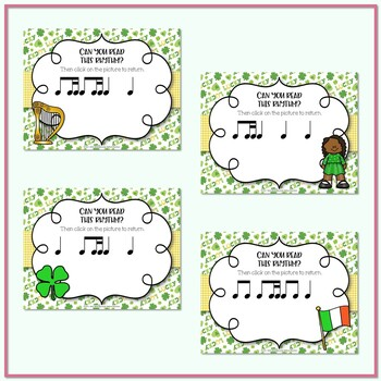 Lucky Rhythms - St. Patrick's Day Interactive Game to Practice Ti-tika
