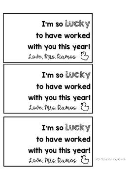 Lucky Rubber Ducky Tag
