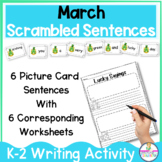 Lucky FUN St. Patrick's Day Sentence Building Writing Activity