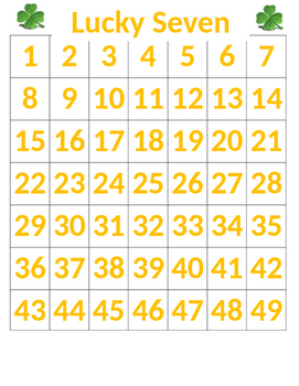 Lucky Seven Classroom Managment