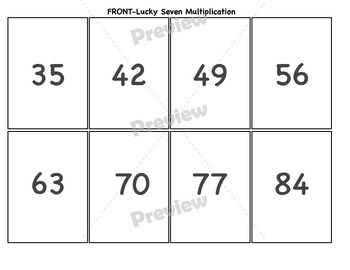 Lucky Seven Concentration
