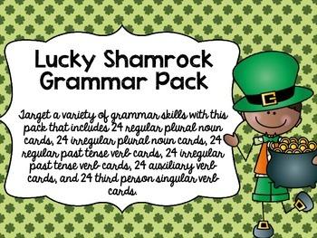 Lucky Shamrock Grammar Pack