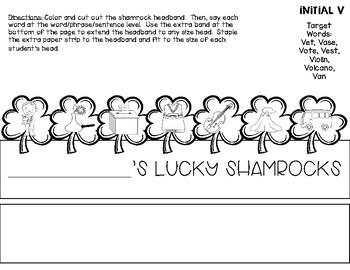 Lucky Shamrocks Articulation Headbands