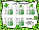 Lucky Shamrocks Math Game