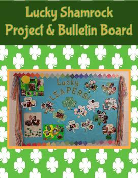 St. Patrick's Day Lucky Shamrocks - Project & Bulletin Board