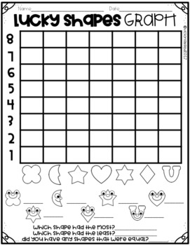 Lucky Shapes Graph Freebie