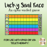 Lucky Snail Race Open-ended Game: Boom Card + PowerPoint V