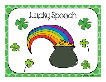 Lucky Speech Reinforcement Game {FREEBIE}