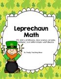 Lucky St Patricks Day Math