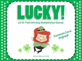 Lucky! St. Patrick's Day Multiplication (Common Core Aligned!)