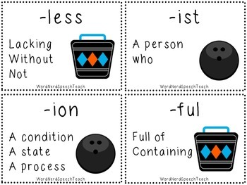 Lucky Strike Prefixes and Suffixes