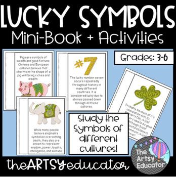 Lucky Symbols of the World! Mini Book and Graphic Organizer