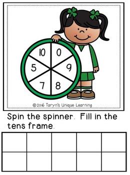 Lucky Tens Frames
