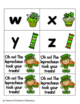 Lucky Treats Alphabet! Letter and Sound Recognition Game