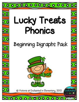 Lucky Treats Phonics: Beginning Digraphs Pack