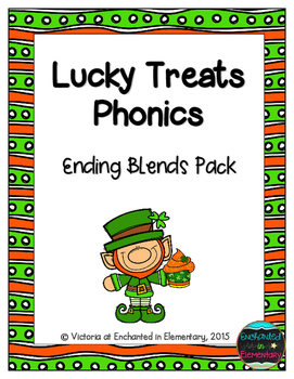 Lucky Treats Phonics: Ending Blends Pack