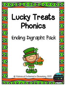 Lucky Treats Phonics: Ending Digraphs Pack
