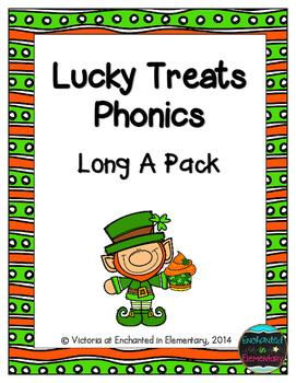 Lucky Treats Phonics: Long A Pack
