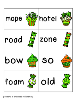 Lucky Treats Phonics: Long O Pack