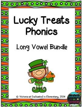 Lucky Treats Phonics: Long Vowel Bundle