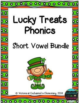 Lucky Treats Phonics: Short Vowel Bundle