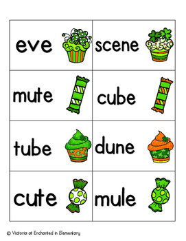 Lucky Treats Phonics: Silent E Words Pack