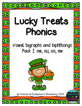 Lucky Treats Phonics: Vowel Digraphs and Diphthongs Pack 1
